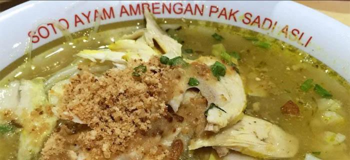 soto ayam khas surabaya