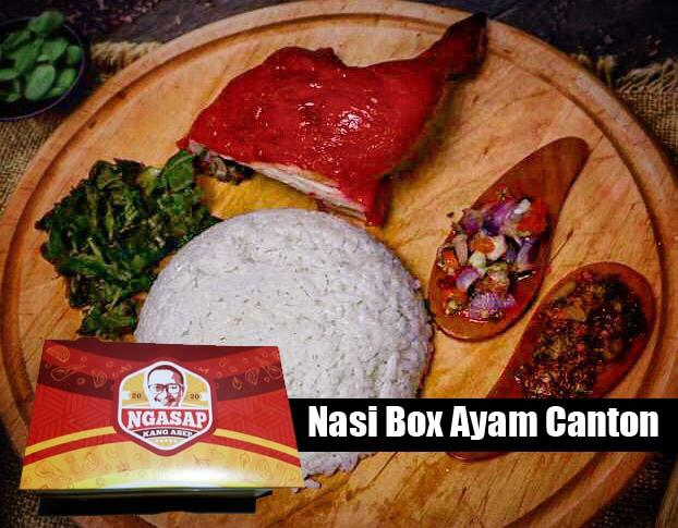 nasi box ayam canton surabaya